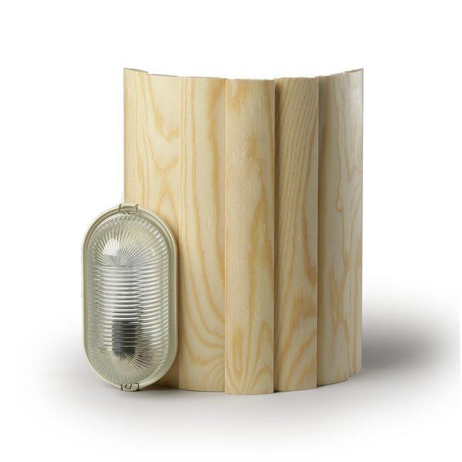 Saunavalaisin AVH15.1 40W E14 330x260x122 mm vaalea mänty