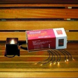 Saunavalaistussarja Sauna Light Kit 3 projektori + 8 kuitua