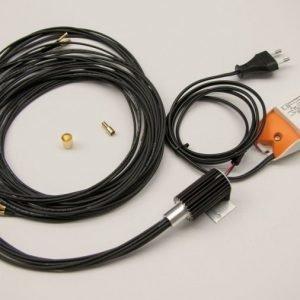 Saunavalaistussarja VPL10L-E161 2 m² LED-projektori + 16 valokuitua