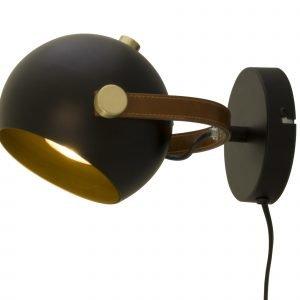 Scan Lamps Bow Seinävalaisin Musta