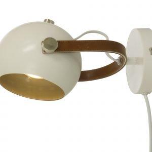 Scan Lamps Bow Seinävalaisin Valkoinen