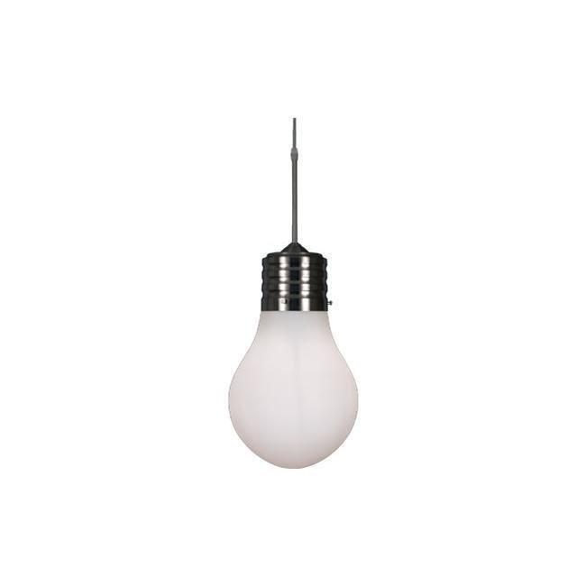 Scan Lamps Edison kattovalaisin teräs/valkoinen