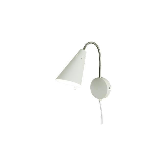 Scan Lamps Eva seinävalaisin valkoinen/kromi