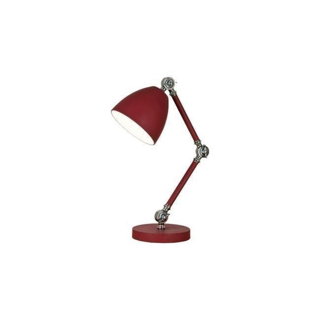 Scan Lamps Sixten pöytävalaisin punainen