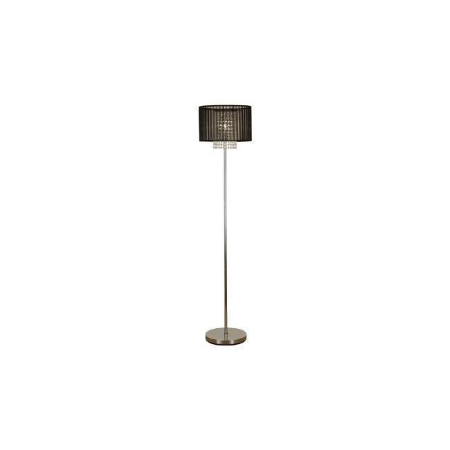 Scan Lamps Vendela lattiavalaisin kromi/musta