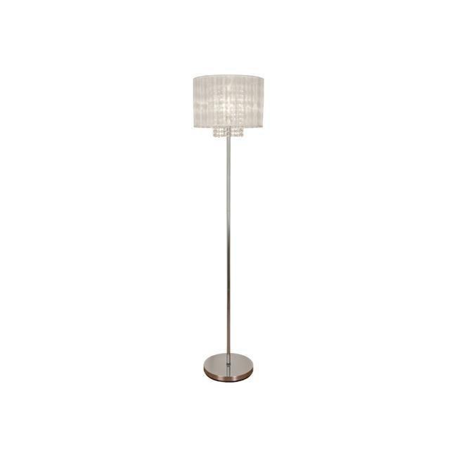 Scan Lamps Vendela lattiavalaisin kromi/valkoinen