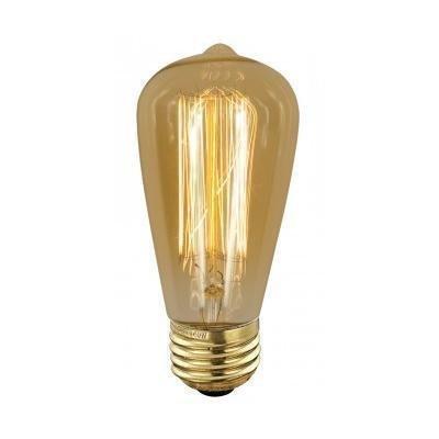 ScanLamps Erikoispolttimo Deco amber (90140) 40W