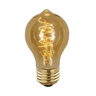 ScanLamps Erikoispolttimo Deco amber Edison (90240) 40W