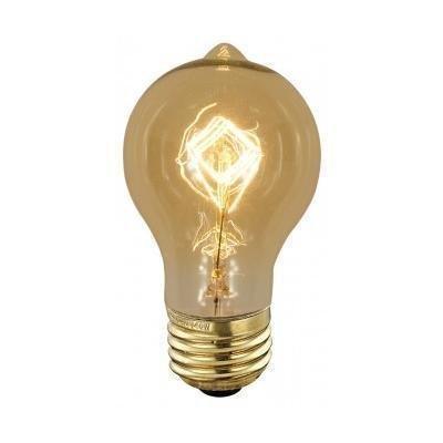 ScanLamps Erikoispolttimo Deco amber Edison (90340) 40W
