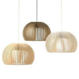 Secto Design Atto 5000 Valaisin Pähkinäpuu