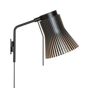 Secto Design Petite 4630 Seinävalaisin Musta