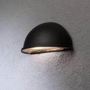 Seinävalaisin 7326-750 Torino alasvalo musta