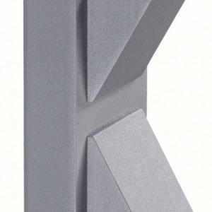 Seinävalaisin Carina 80x150 mm LED ylös/alasvalo hopeanharmaa IP44