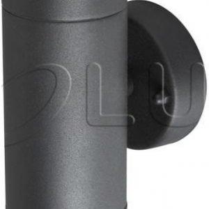 Seinävalaisin Polux Olimp halogeeni 2x35W 230V IP44 antrasiitti