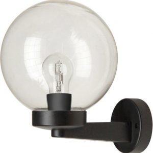 Seinävalaisin Smartwares Globe 60W 230V IP44 musta