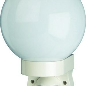Seinävalaisin Smartwares Globe 60W 230V IP44 valkoinen