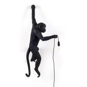 Seletti Apina Kattovalaisin Ulkokäyttöön Musta