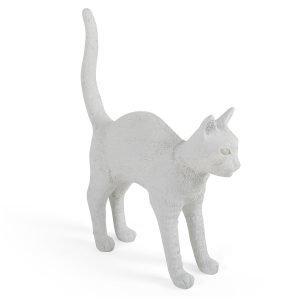 Seletti Jobby The Cat Valaisin Led Valkoinen