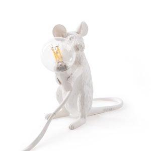 Seletti Mouse Pöytävalaisin Istuva