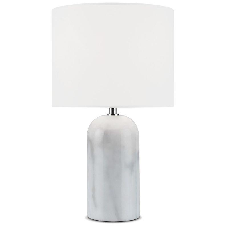 Sessak Cole P1951-1V Valkoinen marmori Pöytävalaisin