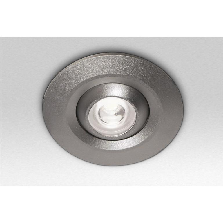 Sessak Upotettava LED-alasvalo 1-os (hopea)