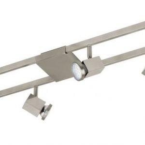 Spottisetti LED Zeraco 6-osainen harjattu teräs