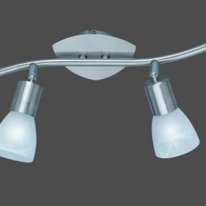 Spottivalaisin FocusLight Bibi 4x7W 230V IP20 matta nikkeli/Morano lasi