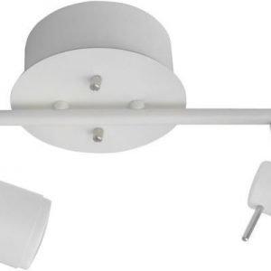 Spottivalaisin FocusLight Maren 2x11W 230V IP20 matta valkoinen
