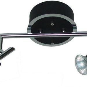 Spottivalaisin FocusLight Modus 4x50W 230V IP20 musta/kromi