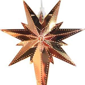 Star Betlehem Metallitähti Kupari