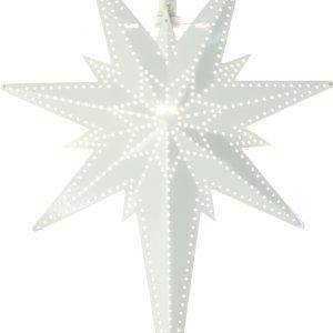 Star Betlehem Metallitähti Valkoinen