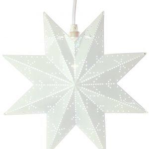 Star Classic Metallitähti Valkoinen