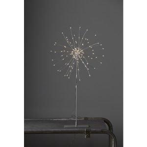 Star Firework Pöytäkoriste Hopea