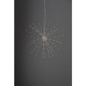 Star Firework Riippuva Koriste Hopea