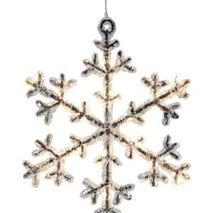 Star Icy Snowflake Led Valokoriste 18 Cm
