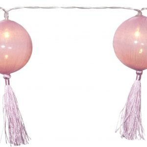 Star Jolly Tassel Light Valosarja Vaaleanpunainen