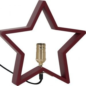 Star Lysekil Pöytätähti Punainen 28