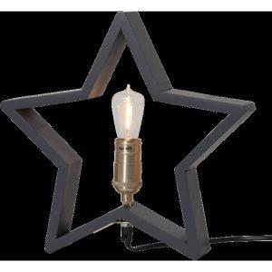 Star Lysekil Pöytätähti Tummanharmaa 29 Cm