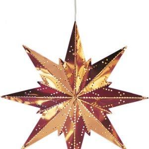 Star Mini Metallitähti Kupari