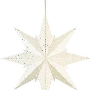 Star Mini Metallitähti Valkoinen