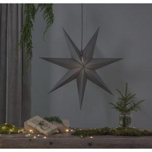 Star Ozen Paperitähti Harmaa 100 Cm