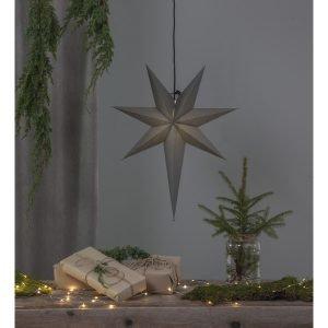 Star Ozen Paperitähti Harmaa 65 Cm