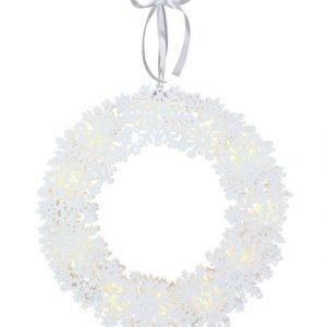 Star Snowflake Led Valokranssi 45 Cm