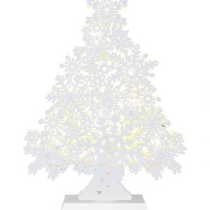 Star Snowflake Tree Led Valokuusi 32 Cm