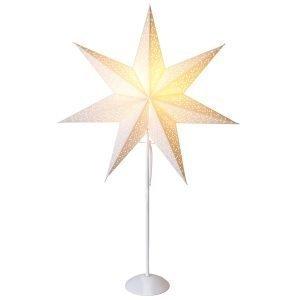 Star Trading Dot Joulutähti Jalallinen Valkoinen