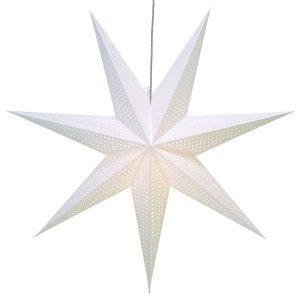 Star Trading Huss Joulutähti Valkoinen