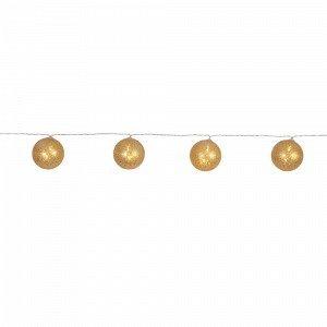 Star Trading Jolly Glitter Valoköynnös Kulta