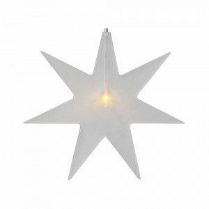 Star Trading Karla Valotähti Valkoinen 25 Cm