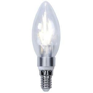 Star Trading Led Hehkulamppu E14 C35 Crystal Silver