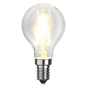 Star Trading Led Hehkulamppu E14 P45 Filament Transparent